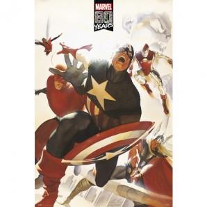 Αφίσα Marvel Avengers 80 Years