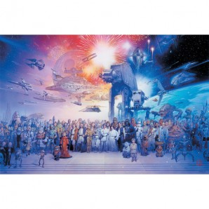 Αφίσα Star Wars Legacy Characters