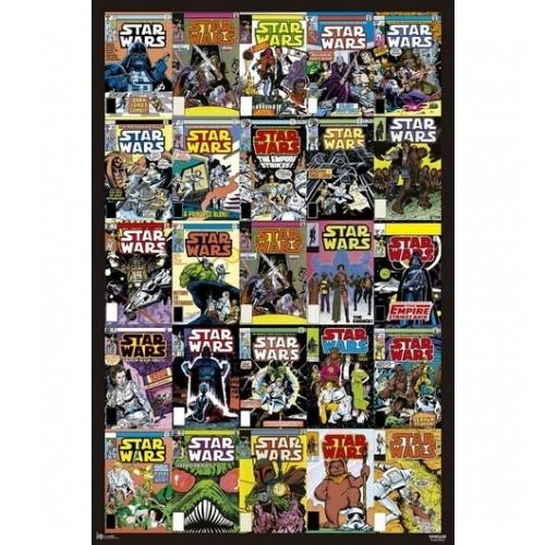 Αφίσα Star Wars Classic Covers Comics