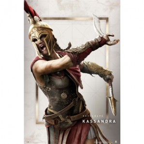 Αφίσα Assassins Creed Odyssey Kassandra