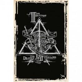 Αφίσα Harry Potter Deadly Symbol