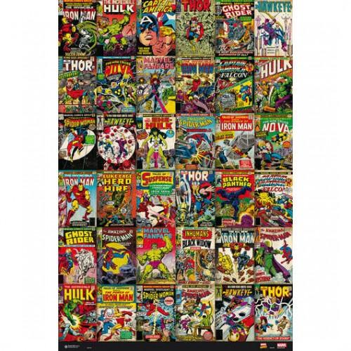 Αφίσα Marvel Classic Comics Covers
