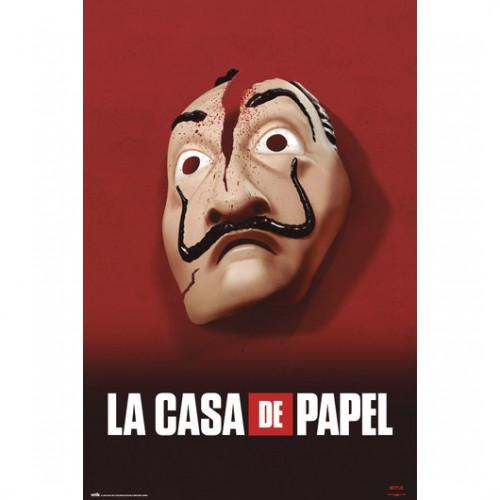 Αφίσα La Casa De Papel Mask
