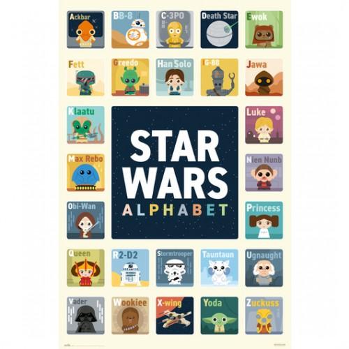 Αφίσα Star Wars Alphabet