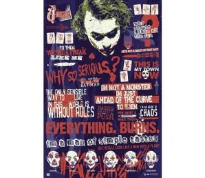 Αφίσα Joker Infographic - DC