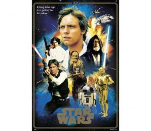 Αφίσα Classic 40 Anniversaries - Star Wars
