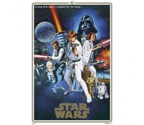 Αφίσα Classic 40 Anniversaries B - Star Wars