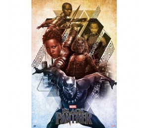 Αφίσα Black Panther - Marvel