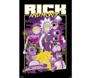 Αφίσα Characters - Rick and Morty