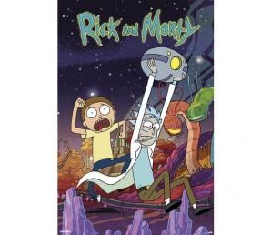 Αφίσα Planet - Rick and Morty