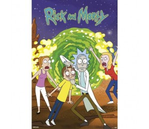 Αφίσα Portal - Rick and Morty
