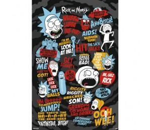 Αφίσα Quotes - Rick and Morty