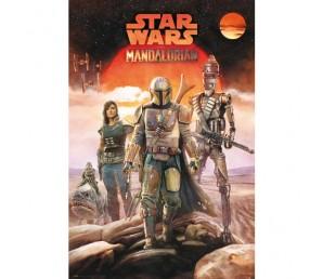 Αφίσα The Mandalorian Crew - Star Wars