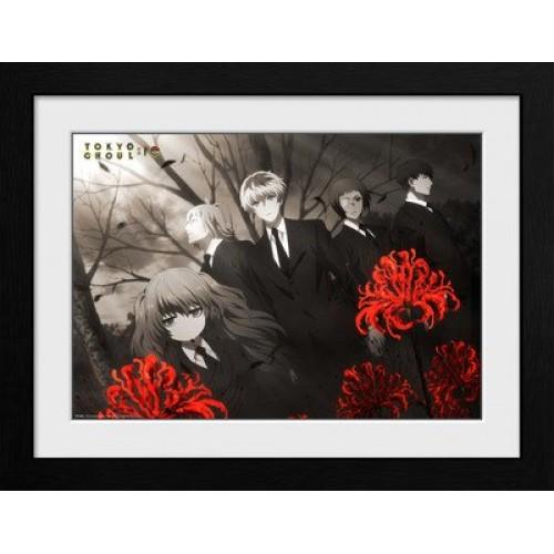 Κάδρο Tokyo Ghoul - Red Flowers