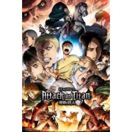 Αφίσα Attack On Titan Season 2 - Key Art