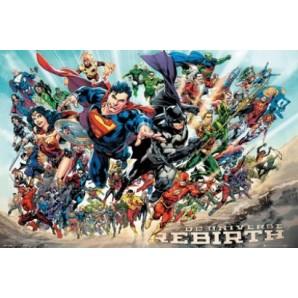 Αφίσα DC Universe Rebirth