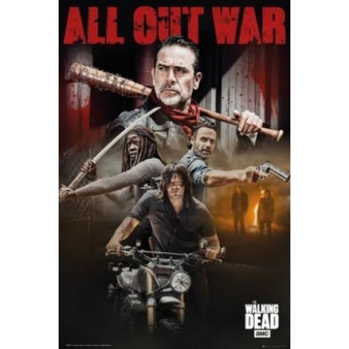 Αφίσα The Walking Dead - Collage