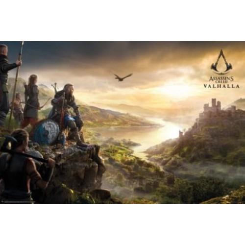 Αφίσα Assassins Creed Valhalla - Vista