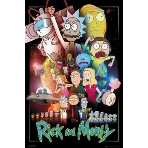 Αφίσα Rick and Morty - Wars