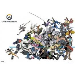 Αφίσα Overwatch - Battle