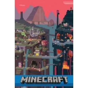 Αφίσα Minecraft - World