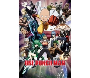 Αφίσα One Punch Man - Collage
