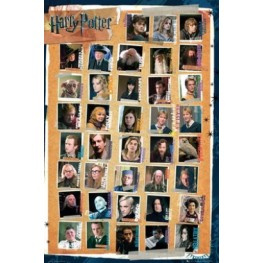 Αφίσα Harry Potter - Characters
