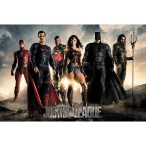Αφίσα DC Justice League - Characters