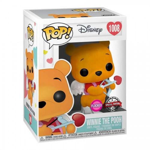 Winnie the Pooh (Valentines) (Flocked) (Special Edition) #1008 - Disney